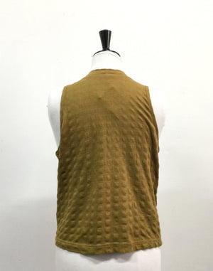 Vintage 90's Mustard Sleeveless Top