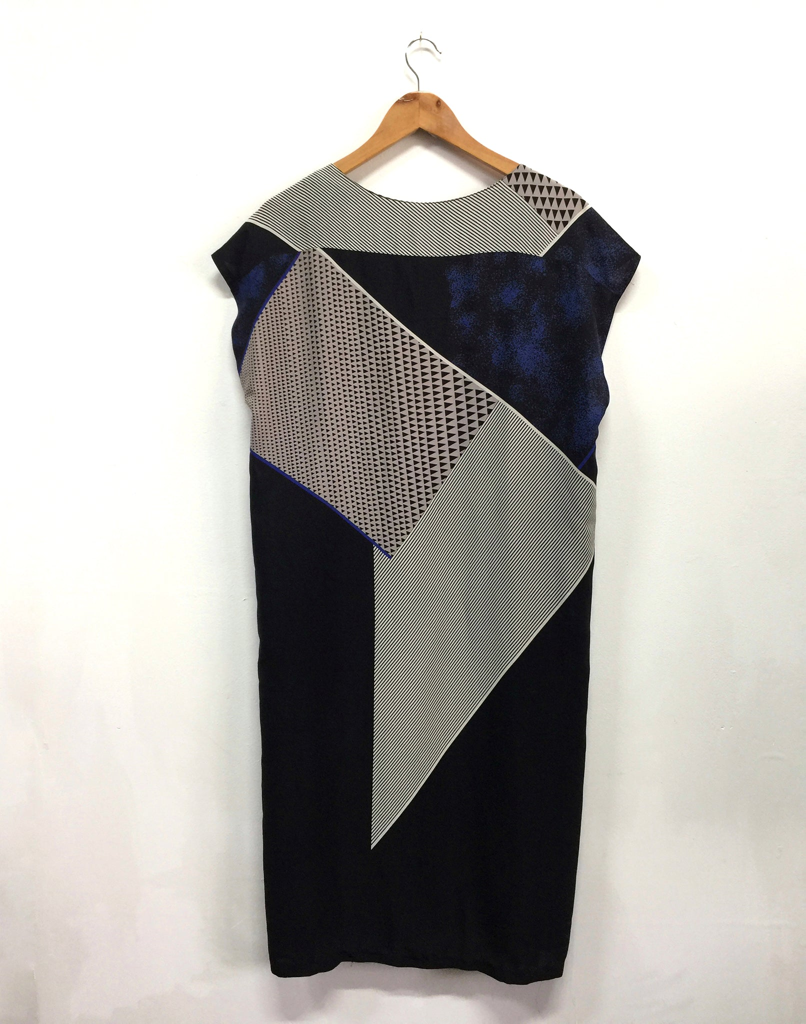 Vintage 80's Jual Geometric Dress