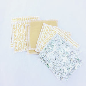 Fabric Face Washers Textured (In Stock Now)