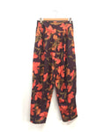 Vintage 80's Purple Floral Pants