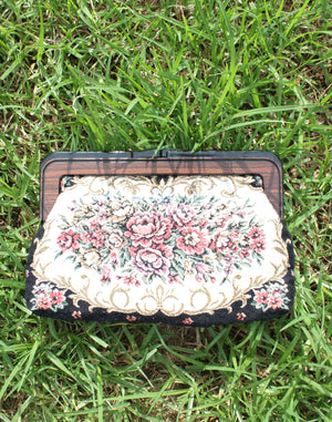 Small Tapestry Clutch Purse