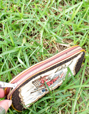 Tapestry Zip Purse