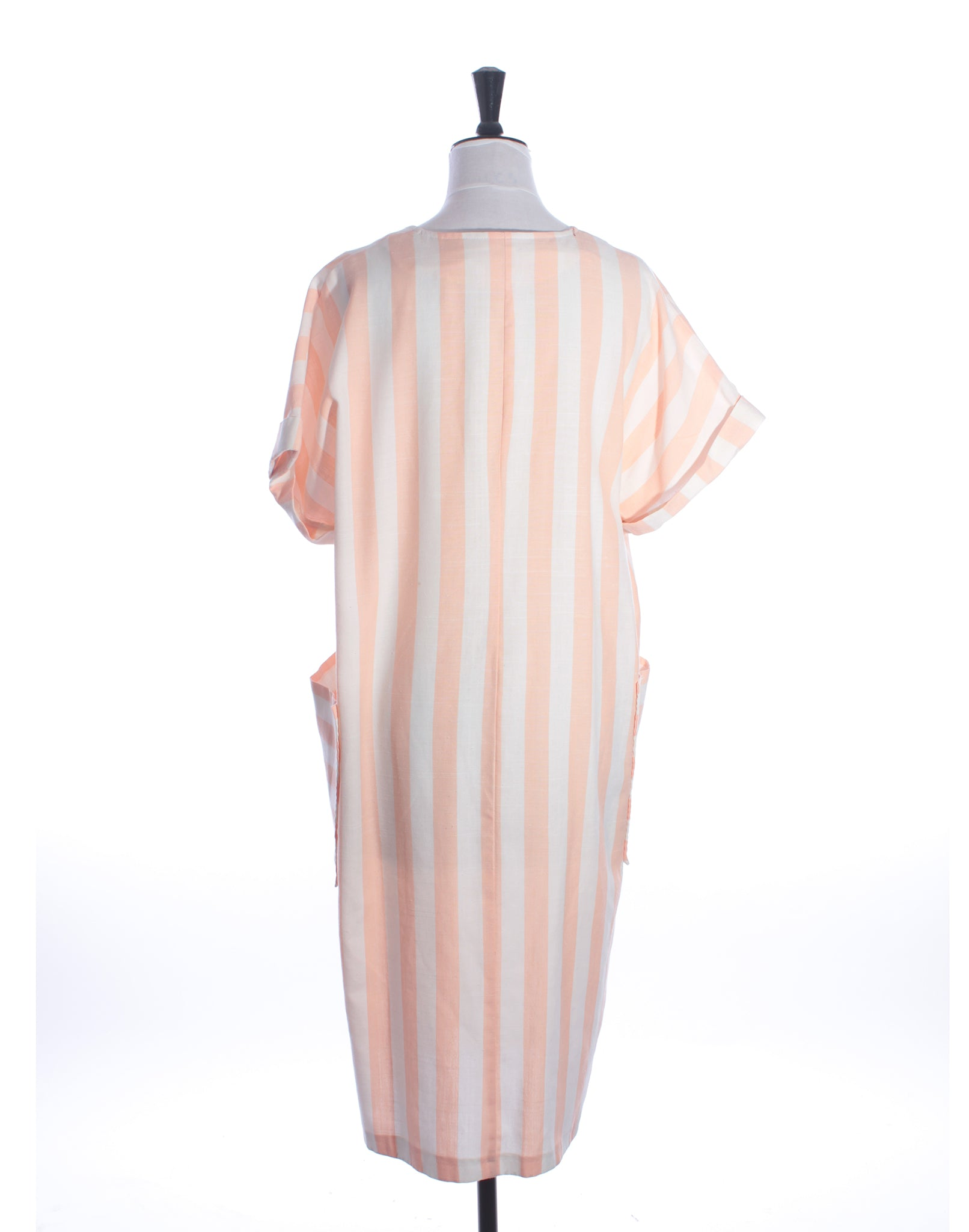 Peach Stripe Dress
