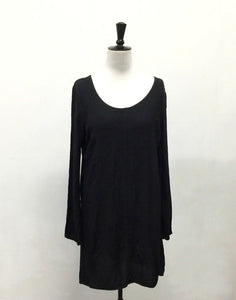 Vintage 90's Black Long Sleeve Dress