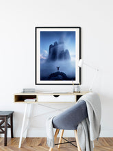 Load image into Gallery viewer, Foggy Rock