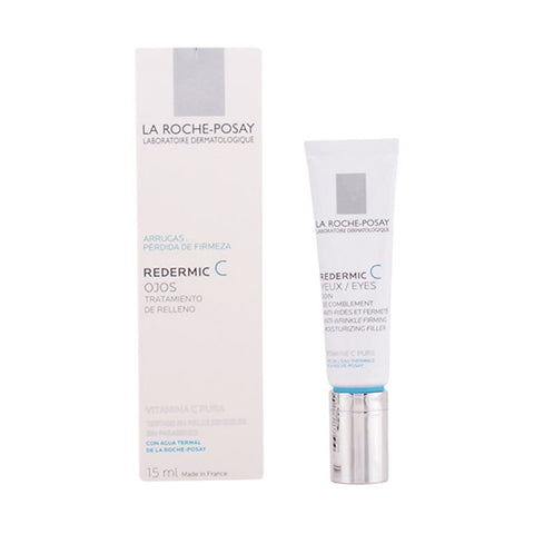Anti-Ageing Cream for Eye Area Redermic C La Roche Posay