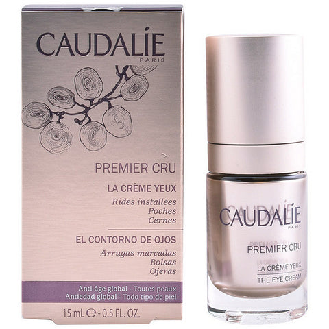 Anti-Ageing Cream for Eye Area Premier Cru Caudalie (15 ml)