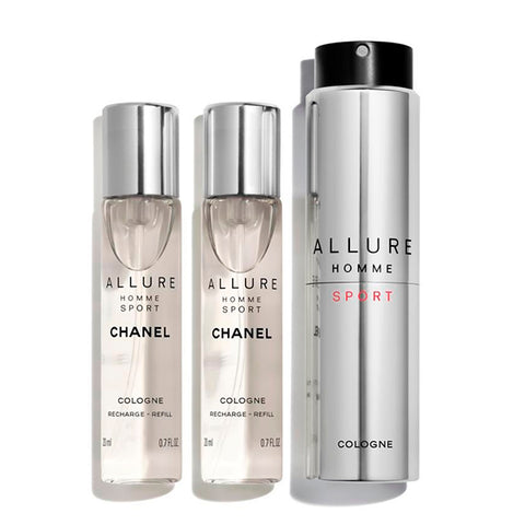 Men's Perfume Allure Homme Sport Cologne Chanel EDC (3 pcs)