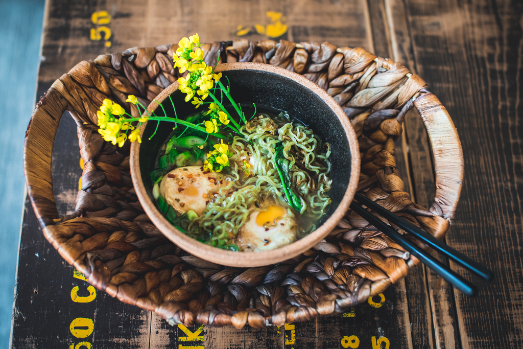 Noodelist Recipe Tips: Shiitake Consommé with eggs