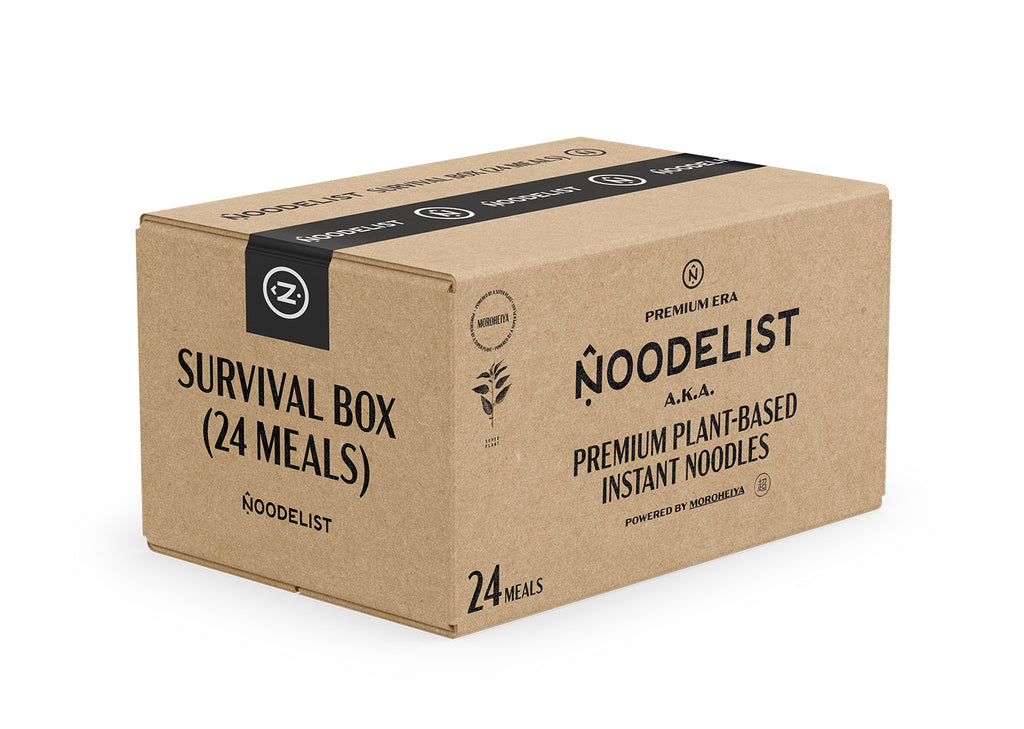 Noodelist Survival Box / 24 Meals