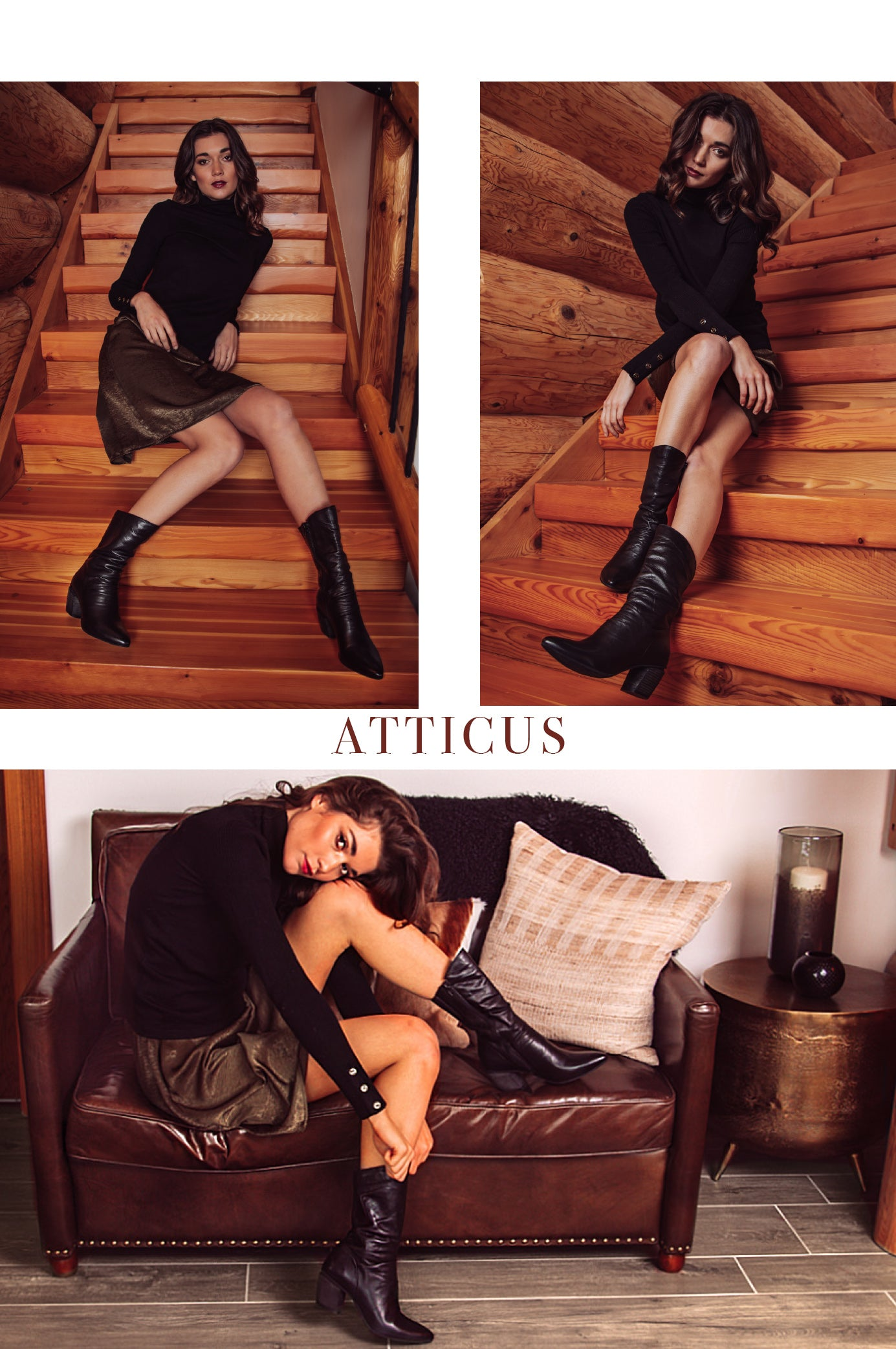 Atticus boots by EOS Footwear