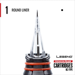 Premium Plus Round Liner Cartridge 10/box