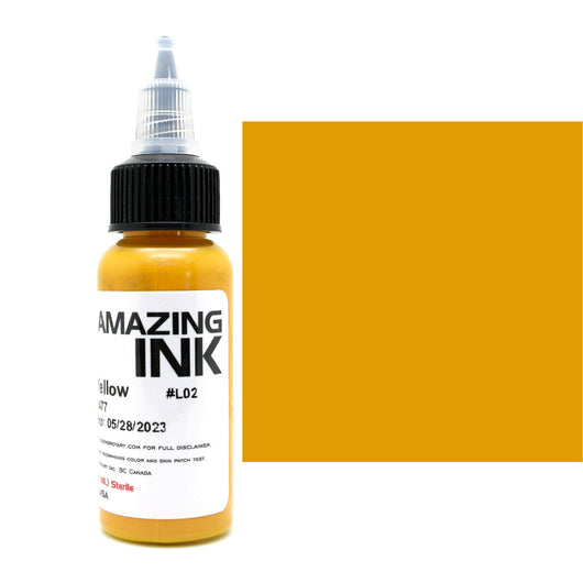 Golden Yellow Amazing Ink 1oz