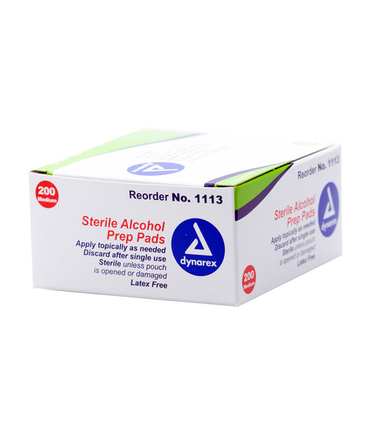 Alcohol pads, Medium, 200/Box | CAM (CANADA) SUPPLY INC.