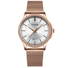 Load image into Gallery viewer, 0045C | Quartz Women Watch | Mesh Band