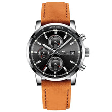 Load image into Gallery viewer, 0050M | Quartz Men Watch | Leather Band