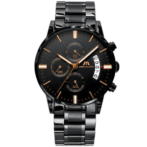 0105M | Quartz Men Watch | Stainless Steel Band