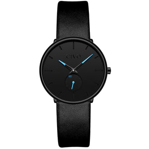 0124C | Quartz Women Watch | Leather Band