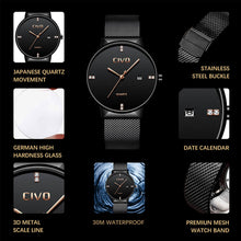 Load image into Gallery viewer, 9164C | Quartz Men Watch | Mesh Band