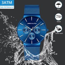 Load image into Gallery viewer, 0047M | Quartz Men Watch | Mesh Band