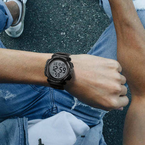 1258S | Quartz Men Watch | Rubber Band