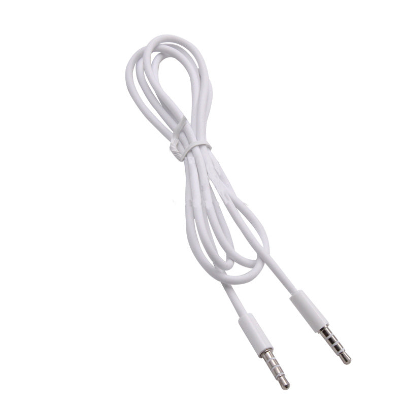Lustky 1PCS Audio Cable 3.5mm Jack Male To Male Audio Extension Auxiliary Line Headset 1M for Mobile Phone Speakers Car Computer New