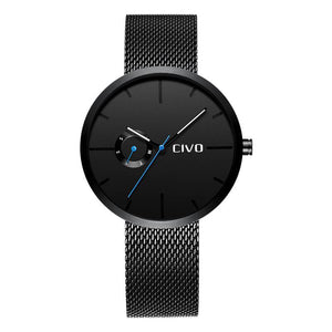 8022C | Quartz Men Watch | Mesh Band