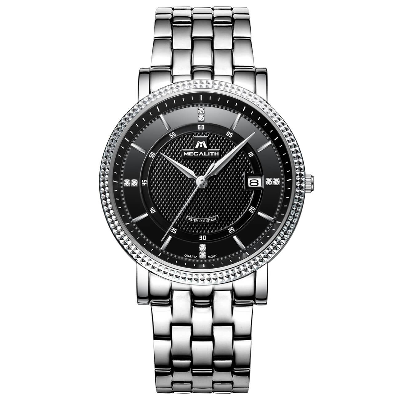 2004M | Quartz Men Watch | Stainless Steel Band