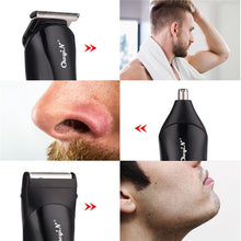 Load image into Gallery viewer, Hair Shaver 3 in 1 Rechargeable Shaver Hair Trimmer Rechargeable Electric Nose Hair Clipper Professional Beard Razor Haircut Cutting Machine
