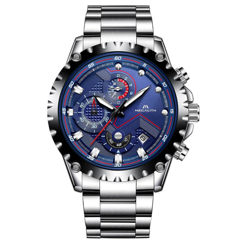 0074M | Quartz Men Watch | Stainless Steel Band