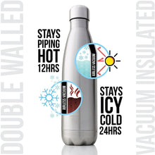 Load image into Gallery viewer, 350/500/750/1000ml Double-Wall Insulated Vacuum Flask Stainless Steel Water Bottle BPA Free Thermos for Sport Water Bottles