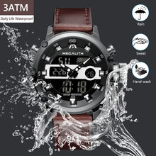 Load image into Gallery viewer, 8051M | Quartz Men Watch | Leather Band