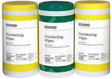 Load image into Gallery viewer, Disinfecting Wipes, Lemon Scent & Fresh Scent, Sanitizes/Cleans/Disinfects/Deodorizes, 75 Wipes Each Can