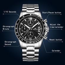 Load image into Gallery viewer, 0089M | Quartz Men Watch | Stainless Steel Band