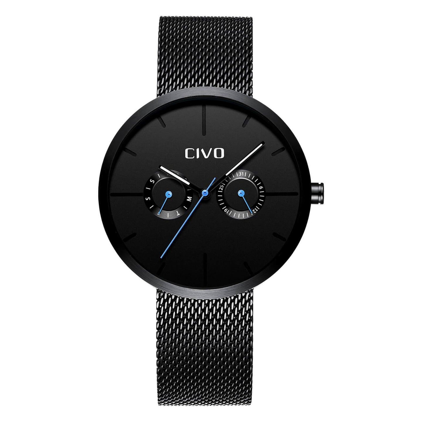 8039C | Quartz Men Watch | Mesh Band