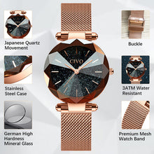 Load image into Gallery viewer, 8074C | Quartz Women Watch | Mesh Band