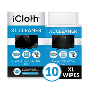 Alcohol Wipes 75% Alcohol Detergent Wipes, Large Wet Wipes Travel for All-Purpose Cleaning (6Pack 60 Wipes)