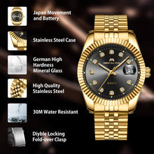 Load image into Gallery viewer, 0038M | Quartz Men Watch | Stainless Steel Band