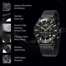 Load image into Gallery viewer, 8089M | Quartz Men Watch | Mesh Band