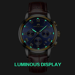0060M | Quartz Men Watch | Leather Band