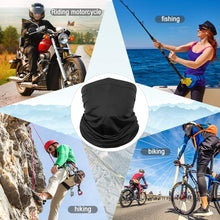 Load image into Gallery viewer, Neck Gaiter Face Scarf Mask-Dust, Sun Protection Cool Lightweight Windproof, Breathable Fishing Hiking Running Cycling