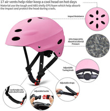 Load image into Gallery viewer, Keepose Kids Bike Helmet Sports Protective Gear Set Suitable for Ages 3-8 Years Toddler Boys Girls Knee Pads Elbow Pads Wrist Pads for Bike Bicycle Skateboard Scooter Rollerblading from Keepose