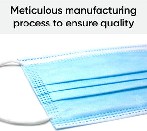 Cutlain 25 pcs/Bag FDA CE Certification Disposable Medical Mask Thickened 3 Layer Non-woven Protective Surgical Mask Fast Delivery