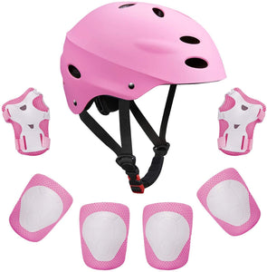 Keepose Kids Bike Helmet Sports Protective Gear Set Suitable for Ages 3-8 Years Toddler Boys Girls Knee Pads Elbow Pads Wrist Pads for Bike Bicycle Skateboard Scooter Rollerblading from Keepose