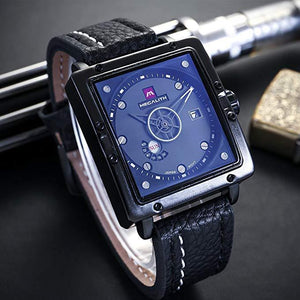 0007M | Quartz Men Watch | Leather Band