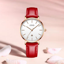 Load image into Gallery viewer, 8062C | Quartz Women Watch | Leather Band