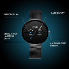Load image into Gallery viewer, 8039C | Quartz Men Watch | Mesh Band