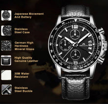 Load image into Gallery viewer, 0089M | Quartz Men Watch | Leather Band