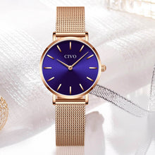 Load image into Gallery viewer, 8054C | Quartz Women Watch | Mesh Band