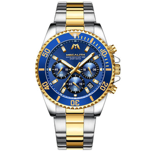 8046M | Quartz Men Watch | Stainless Steel Band